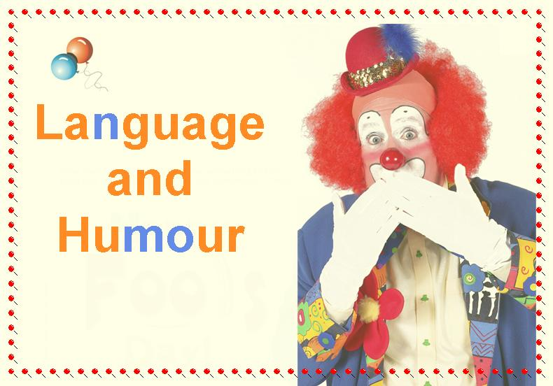 Language and Humour